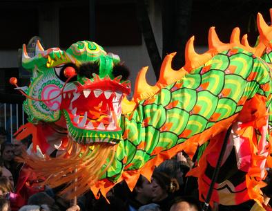 Le nouvel an chinois n est pas qu un d fil de dragons en papier rions cantonais - Photo dragon chinois ...