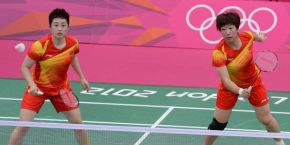 badminton chine jo 2012