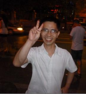 Zhong Gue nous souhaite un bon retour en France